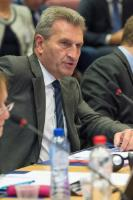 Participation of Günther Oettinger, Member of the EC, in the round table on digital skills