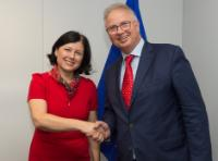 Visit of László Trócsányi, Hungarian Minister for Justice, to the EC