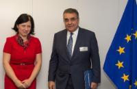 Visit of Francisco Javier Garcia Sanz, Member of the Board of Management of Volkswagen AG, to the EC