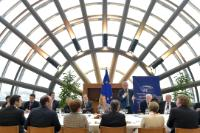 Participation of Jean-Claude Juncker, President of the EC, in a working lunch during the 24th Summit of Chairmen of the EPP Parliamentary Groups in the National Parliaments of the EU and the EP