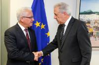 Visit of Ionas Nicolaou, Cypriot Minister for Justice and Public Order, to the EC