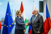 Participation of Federica Mogherini, Vice-President of the EC, in the annual meeting of the Ministers for Foreign Affairs of the Visegrád Group