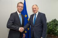 Visit of Esben Lunde Larsen, Danish Minister for Environment and Food, to the EC