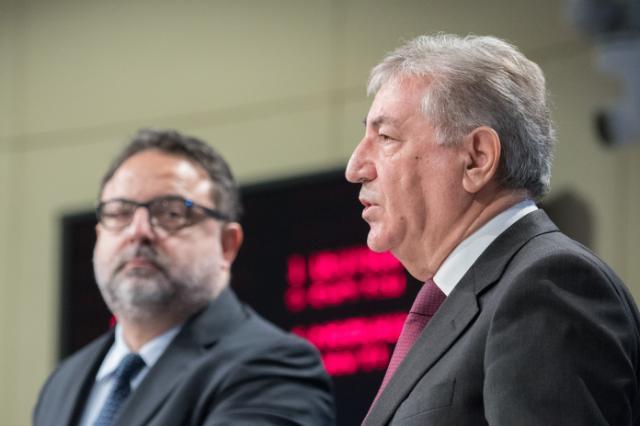 Conférence de presse de Karmenu Vella, membre de la CE, sur la revue de l'implémentation environnementale