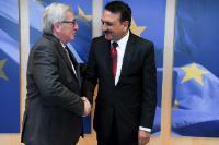 Visite de Prakash Sharan Mahat, ministre népalais des Affaires étrangères, à la CE