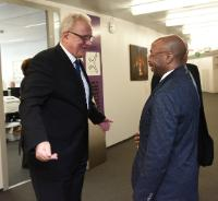 Visit of Job Graça, Angolan Minister for Planning and Territorial Development, to the EC