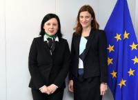 Visit of Juliette Méadel, French Secretary of State in charge of Aid to Victims, to the EC