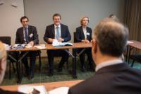 Visit by Maroš Šefčovič, Vice-President of the EC, to Sweden