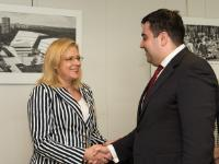 Visit of Alexandru-Răzvan Cuc, Romanian Minister for Transport, to the EC