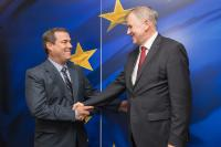 Visit of Bruno Giuffra Monteverde, Peruvian Minister for Production, to the EC