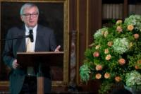 Jean-Claude Juncker, President of the EC, at the conference 'L'avenir de l'Europe'