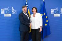 Visit of Denis Zvizdić, Chairman of the Council of Ministers of Bosnia and Herzegovina, to the EC