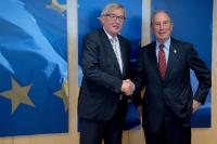 Visit of Michael Bloomberg, U.N. Secretary-General's Special Envoy for Cities and Climate Change, WHO global Ambassador for noncommunicable diseases, and CEO of Bloomberg L.P., to the EC