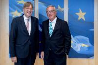 Visit of Guy Verhofstadt, Chair of the Group of the Alliance of Liberals and Democrats for Europe (ALDE Group) of the European Parliament, to the EC