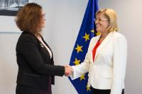 Visit of Martina Lubyová, Slovak Minister for Education, Science, Research and Sport, to the EC