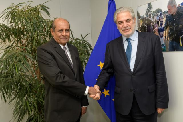 Visit of Tilak Marapana, Sri Lankan Minister for Foreign Affairs and Minister for Development Assignments, to the EC.