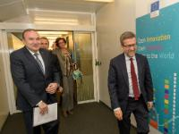 Visit of Levon Mkrtchyan, Armenian Minister of Education and Science, to the EC