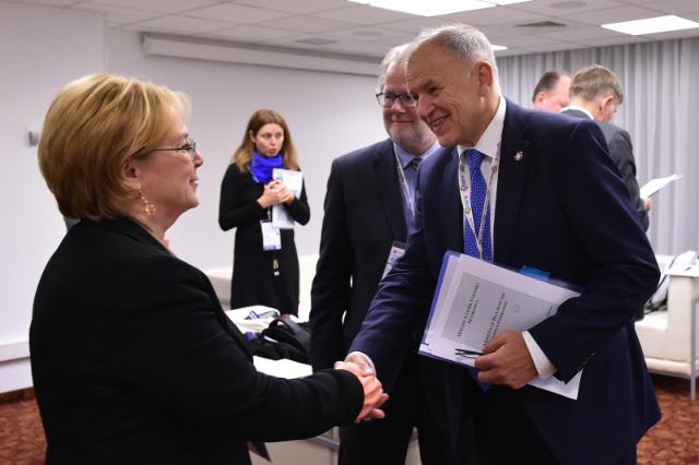 Visit by Vytenis Andriukaitis, Member of the EC, to Russia