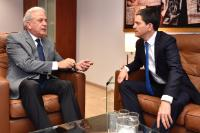 Visit of David Miliband, President and CEO of the International Rescue Committee (IRC), to the EC