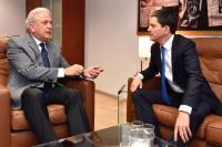 Visite de David Miliband, président et PDG du Comité international de secours (IRC), à la CE