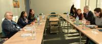 Visite de Yannis Vardakastanis, président du Forum européen des personnes handicapées (FEPH), à la CE