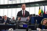 Participation of Jyrki Katainen, Vice-President of the EC, at the Plenary session of the EP