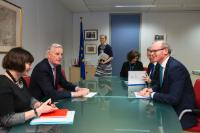 Visit of Simon Coveney, Irish Minister for foreign Affairs and Trade, to the EC