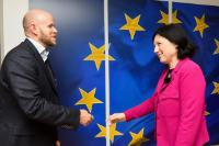 Visit of Daniel Ek, co-founder and CEO of the music streaming service Spotify, to the EC
