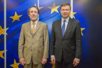 Visit of Robert Ophèle, Chairman of the Autorité des marchés financiers (AMF), to the EC