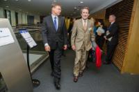 Visite de Robert Ophèle, président de l'Autorité des marchés financiers (AMF), à la CE