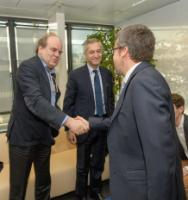 Visit of members of Université libre de Bruxelles (ULB) , to the EC