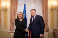 Visit by Corina Creţu, Member of the EC, to Slovakia