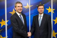 Visit of Hartwig Löger, Austrian Federal Minister for Finance, to the EC