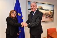 Visit of Fatma Şahin, Mayor of Gaziantep, to the EC