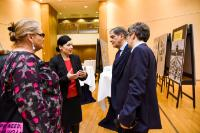 Participation of Vĕra Jourová, Member of the EC, at the Opening of Roma Holocaust Exhibition