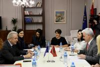 Visit by Dimitris Avramopoulos, Member of the EC, to Albania
