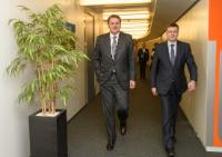 Visit of Norbert Winkeljohann, Chairman of the Management Board of PwC Germany, to the EC