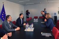 Visite de Nasser Bourita, ministre marocain des Affaires étrangères et de la Coopération internationale, à la CE