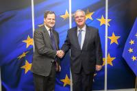 Visit of Sergio Jaramillo Caro, Ambassador of Colombia to Belgium and Head of the Mission of Colombia to the EU, to the EC