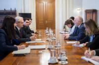 Visite de Frans Timmermans, premier vice-président de la CE, en Roumanie