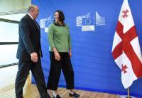 Visit of Giorgi Margvelashvili, President of Georgia, to the EC
