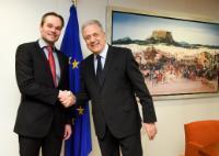 Visit of Kai Mykkänen, Finnish Minister for the Interior, to the EC