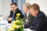 Visit by Valdis Dombrovskis, Vice-President of the EC, to Latvia