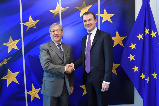 Visit of John Scanlon, Secretary General of the Convention on International Trade in Endangered Species of Wild Fauna and Flora (CITES), to the EC