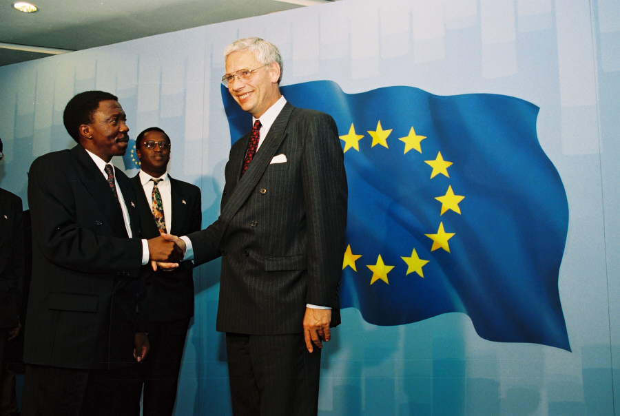 Visit of Sylvestre Ntibantunganya, President of Burundi, to the EC