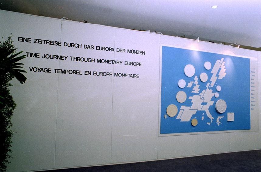 Exhibition entitled A Time Journey through Monetary Europe