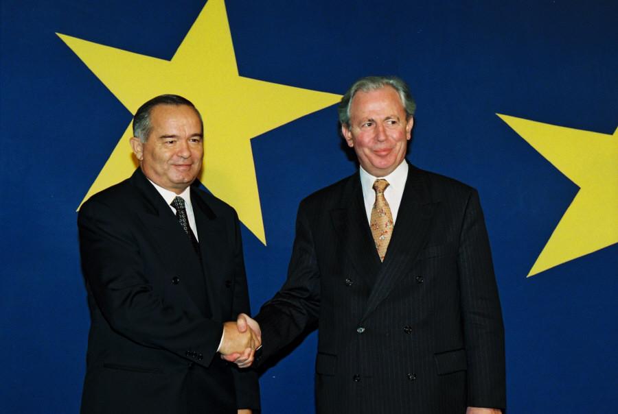 Visite d'Islam Karimov, président de l'Ouzbékistan, à la CE