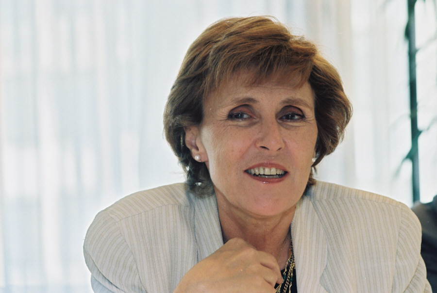 Edith Cresson, member of the EC