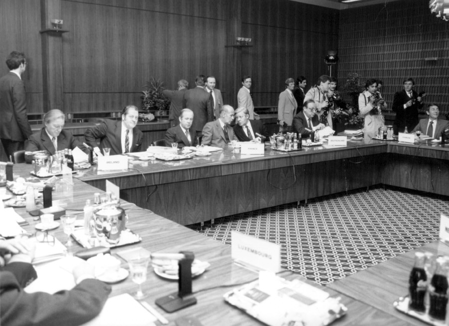 Luxembourg European Council, 27-28/04/1980