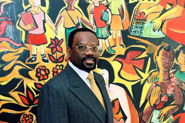 Jean-Robert Goulongana, secrétaire général du groupe ACP